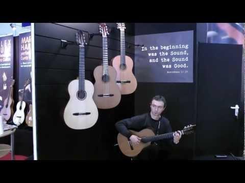 Paul Belski - Kibin Guitars - Musikmesse 2012