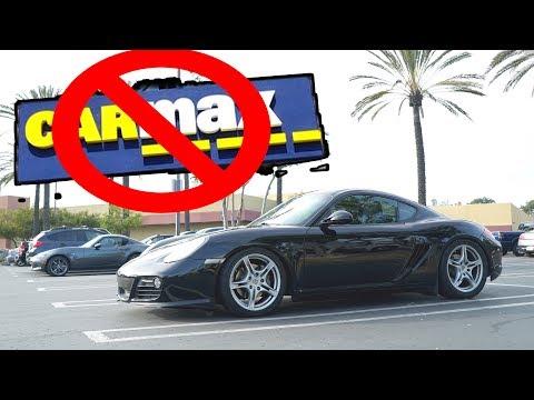 Carmax sold me a broken Porsche.