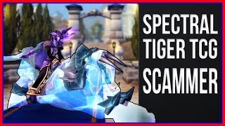 On Discord with a SPECTRAL TIGER SCAMMER