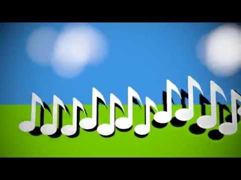 music notes visualizing sound