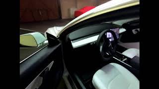 Tesla Model 3 - Fussmatten von Model3Parts und Frunk Matte von AliExpress