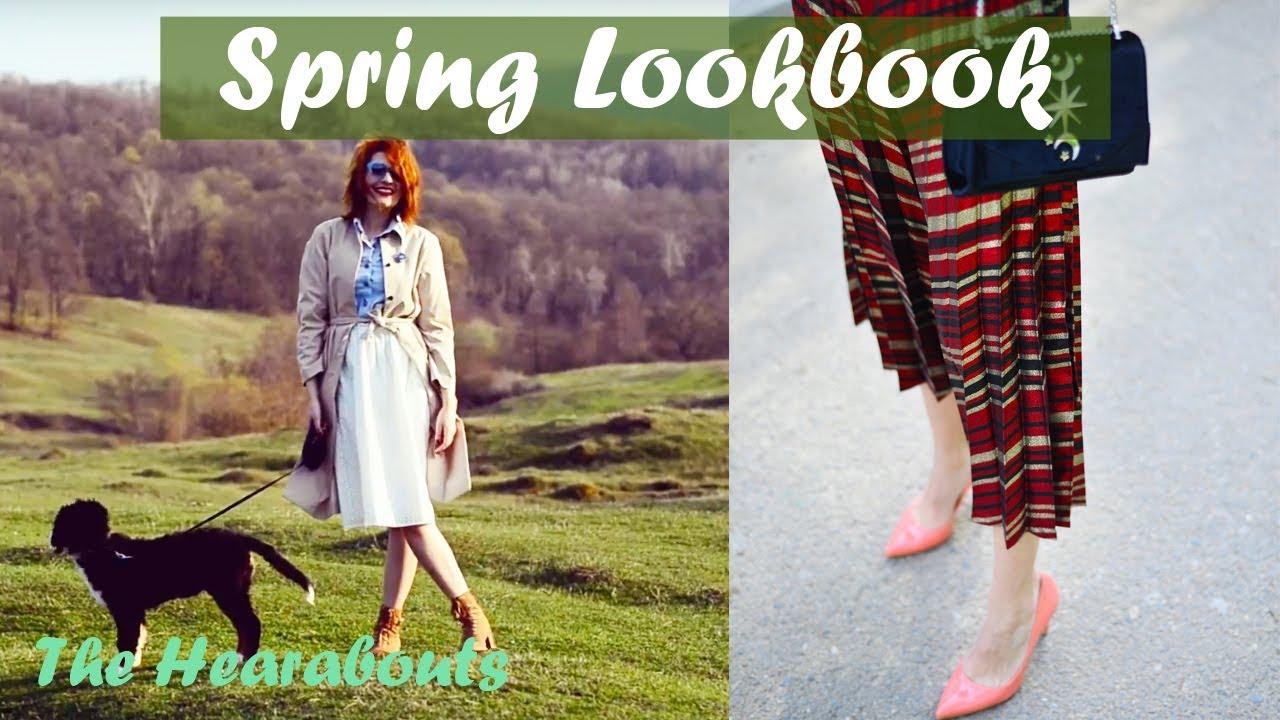 [VIDEO] - 3 Idei de Tinute pentru Primavara   Spring Fashion Lookbook 1