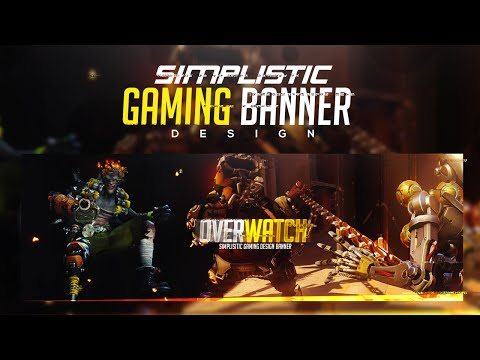 Photoshop Tutorial: Creating A Simplistic Gaming Banner Design