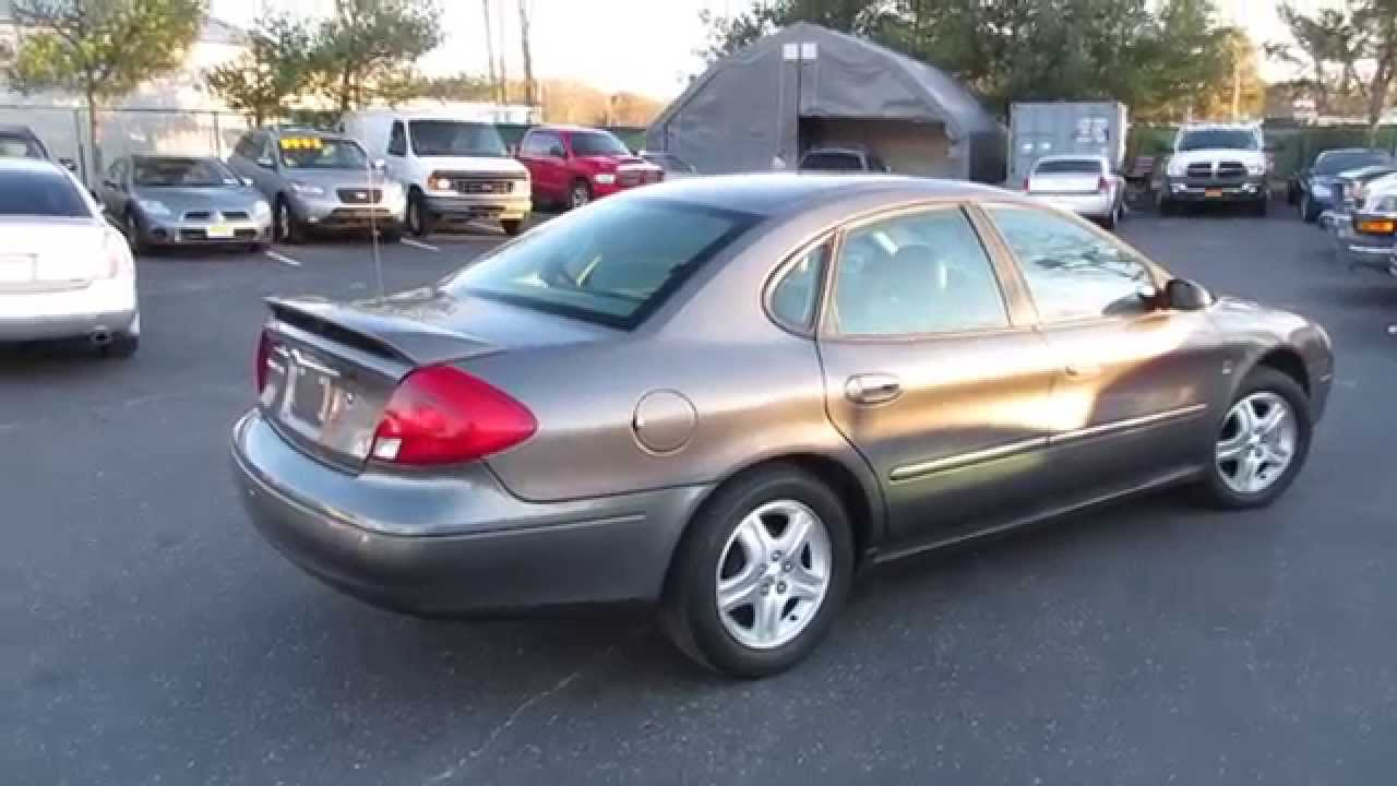 2002 ford taurus sel startup, engine, full tour & overview - youtube