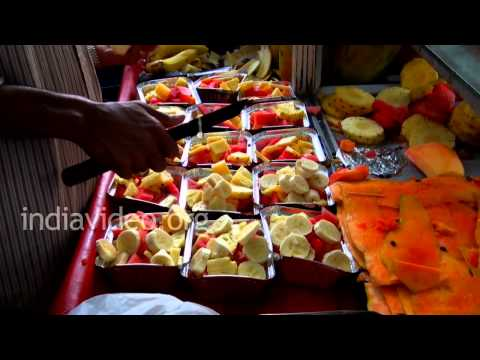 Delicious Fruit Salad Making, Bangalore