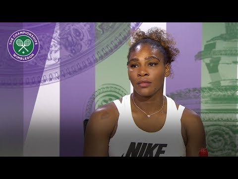 Serena Williams - 'I'm not tired' | Wimbledon 2018