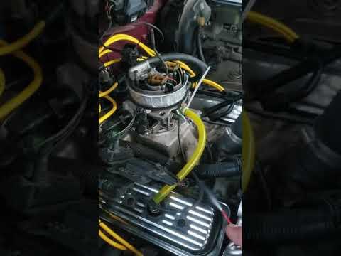 Testing Intake Gasket On Tbi Sbc. Fail