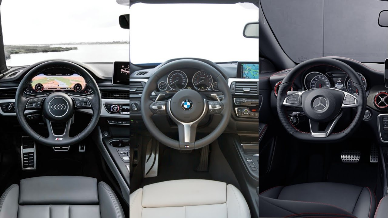 Audi A5 2018 >> Audi A5 Sportback VS BMW 4-Series Gran Coupe VS Mercedes ...
