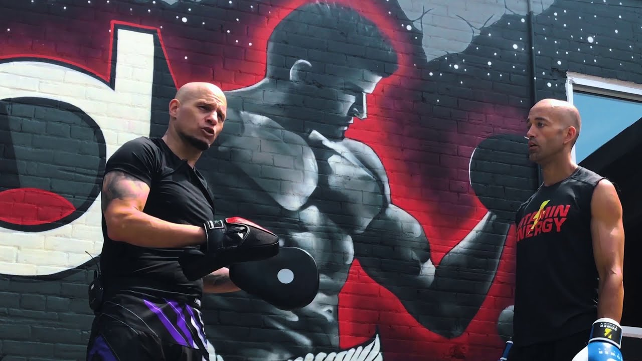 Boxing Punch Mitt Workout Interval Pad Work Conditioning Natebowerfitness Youtube
