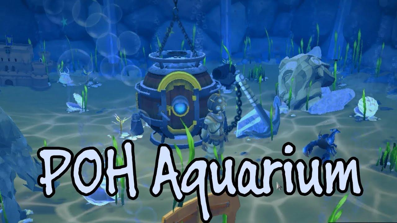 Fish in aquarium runescape - Aquarium For Player Owned House Quick Review