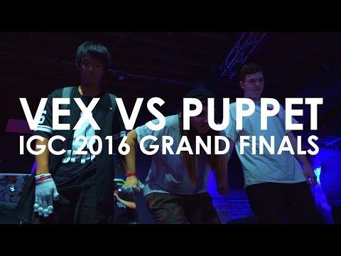 IGC 2016 - Vex vs Puppet | Grand Finals Match [EmazingLights.com]