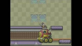 Drill Dozer Game Boy Gameplay - Boss Battle