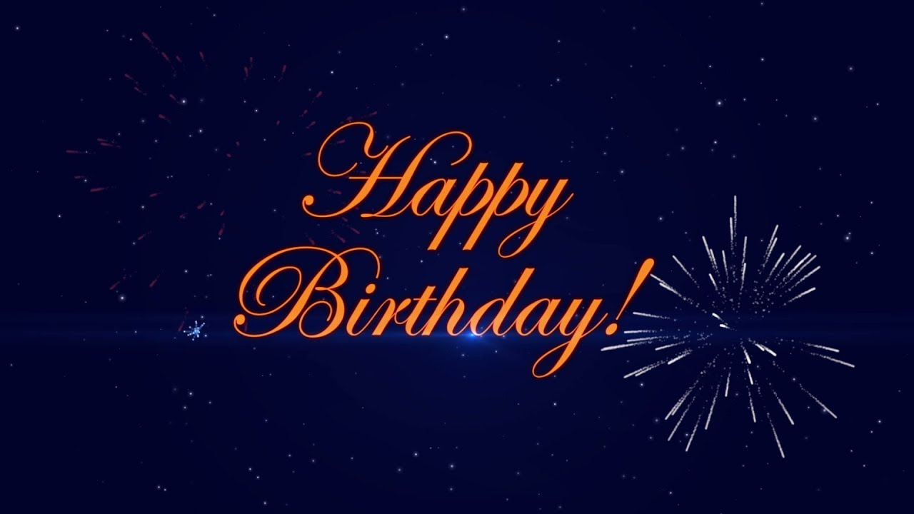 Happy Birthday Firework Version Youtube
