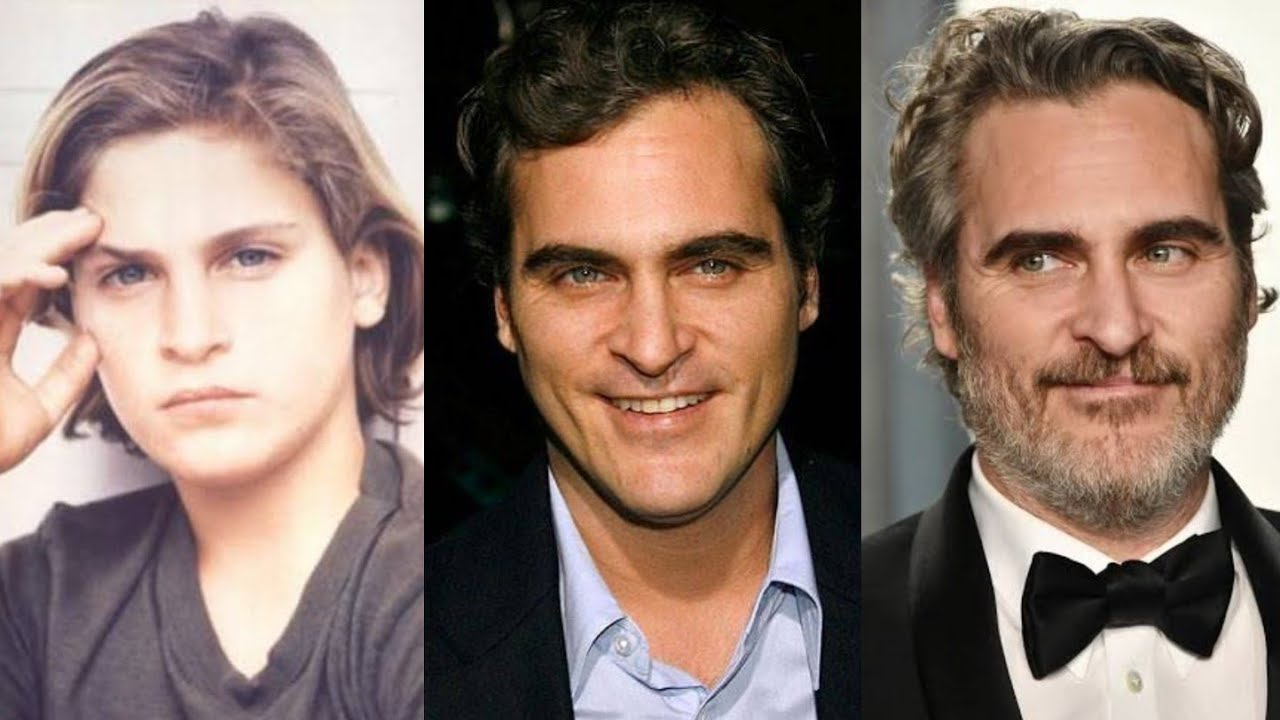 Download Joaquin Phoenix   Transformation From 7 To 46 Years Old   Joker 2019