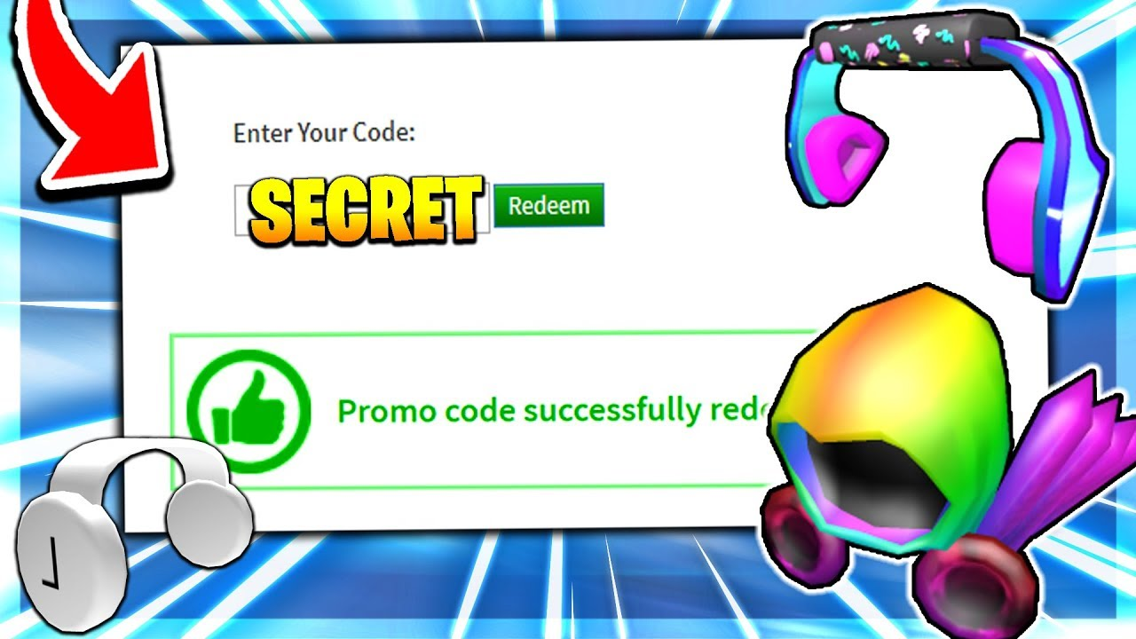 roblox secret promo codes