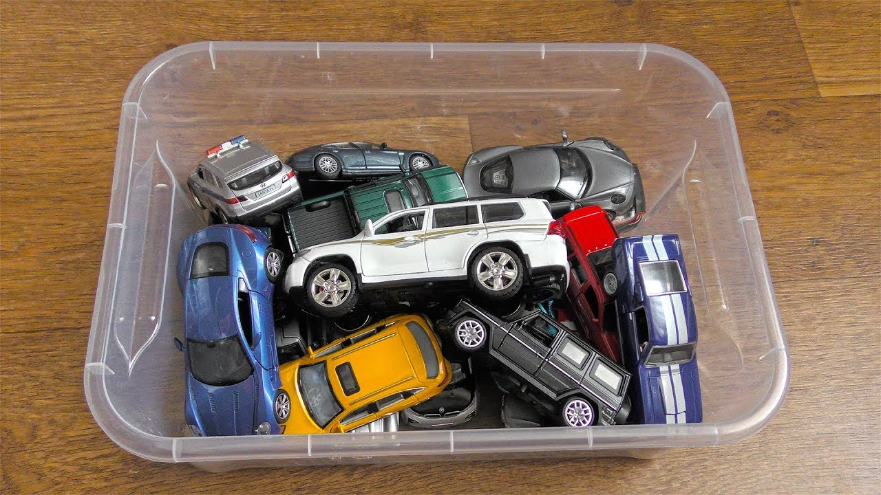 Lots Of Toy Cars From The Box