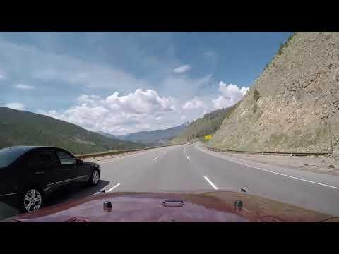 Denver to Utah on I-70 Jeep JK Rocky Mountains