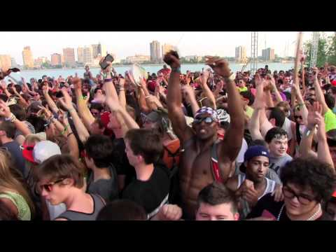 2012 Movement Electronic Music Festival Detroit Takeover