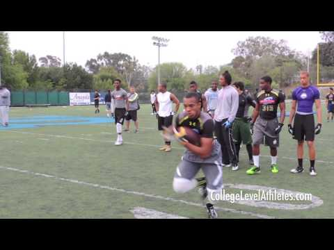 Division I Football Workout Session: Salesian HS (CA) Top Socal Recruits - CollegeLevelAthletes.com