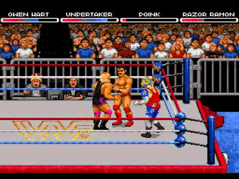wwf raw gameplay