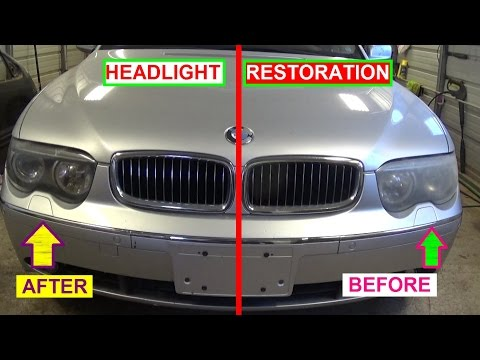 How to Make Your Headlights Clear. Crystal Clear Headlights Permanently