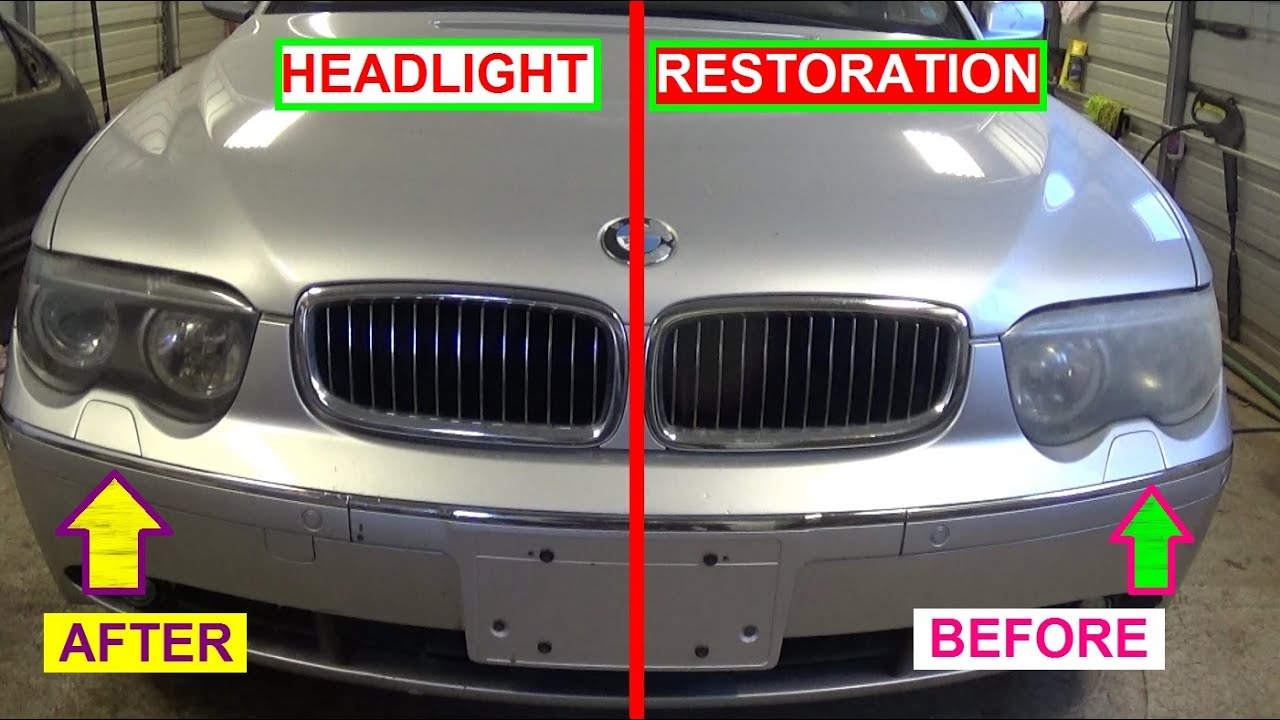 How to Make Your Headlights Clear. Crystal Clear Headlights ...