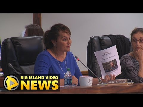 Hawaii County Talks Vacation Rental Rules (Nov. 1, 2017)