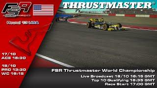 FSR 2015 Broadcasts - Thrustmaster World Championship Round 13, American Grand Prix