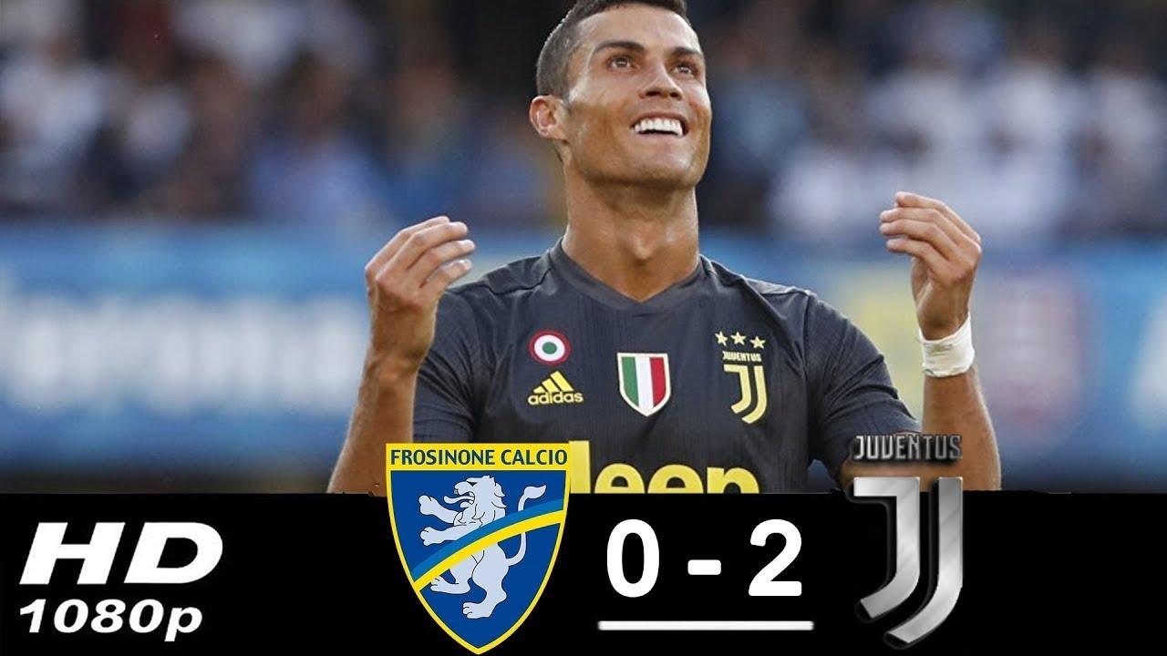 Download Frosinone vs Juventus 0-2 All Goals & Highlights 23/09/2018 HD | 720p
