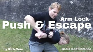 Self Defense Basics by Rick Tew