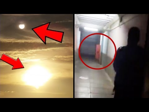 5 Mysterious & Paranormal Things Caught On Camera! (UFO Analysis, Mystery Skies)