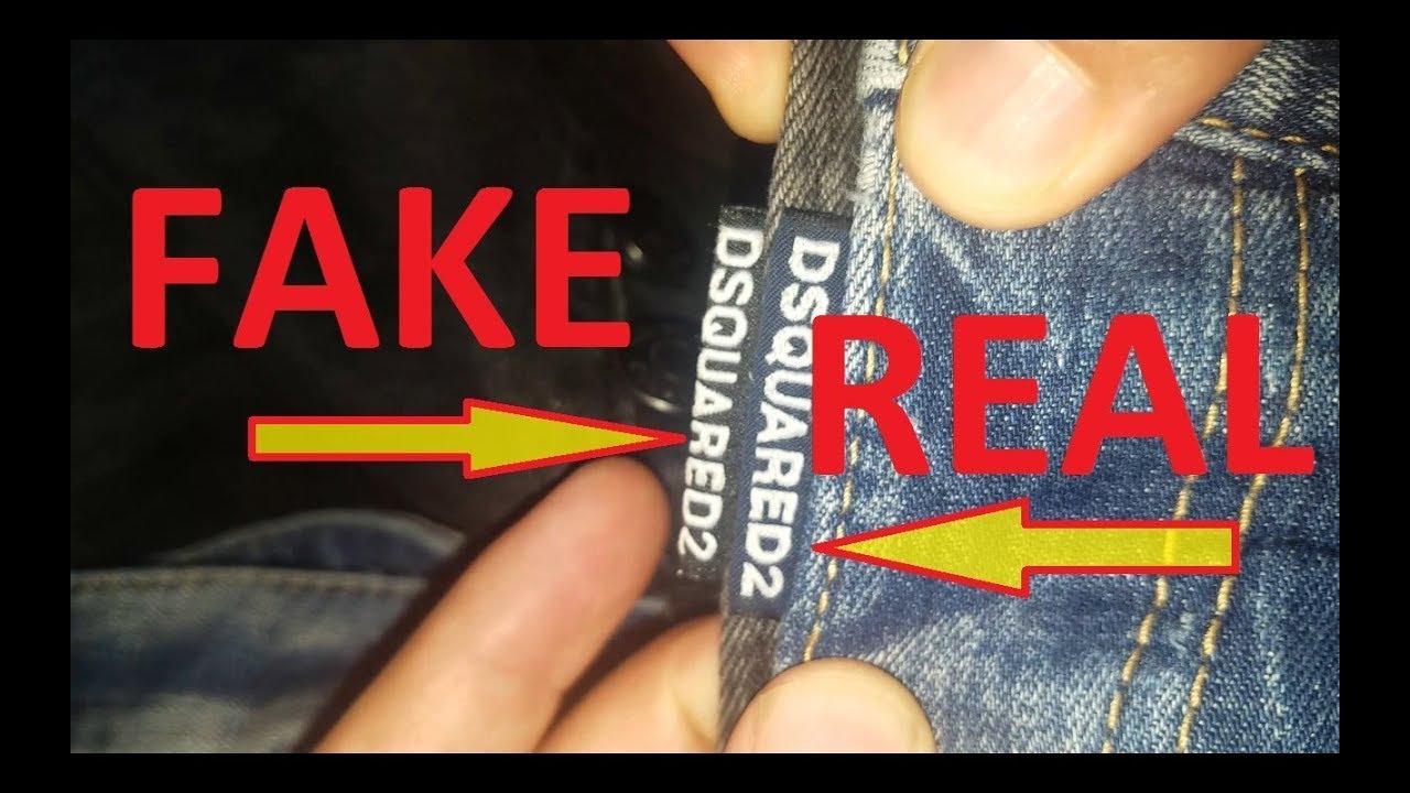 zarte Farben unverwechselbarer Stil erstaunlicher Preis Real vs. Fake DSQUARED2 jeans. How to spot fake Dsquared