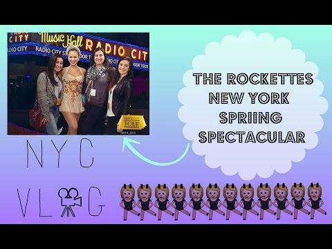 The Rockettes New York Spring Spectacular ~ NYC VLOG   Sabrina Mazzotta