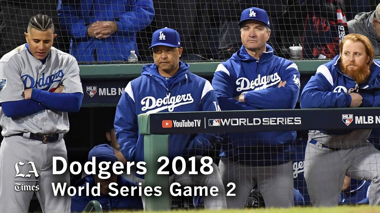 e9ea18ee3 World Series 2018  The Dodgers head back to L.A. down two games in the World  Series