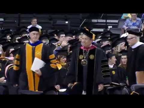 University of Iowa Graduate College Commencement - May 13, 2016