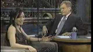 Michelle Yeoh on  Late Show with David Letterman (1997)