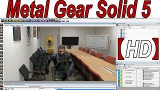 Metal Gear Solid 5 Fox Engine Tech Demo 【HD】