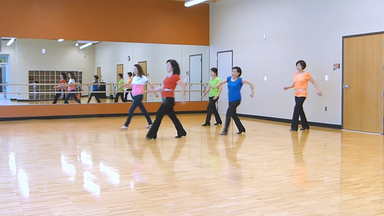 Foot play line dance dance teach
