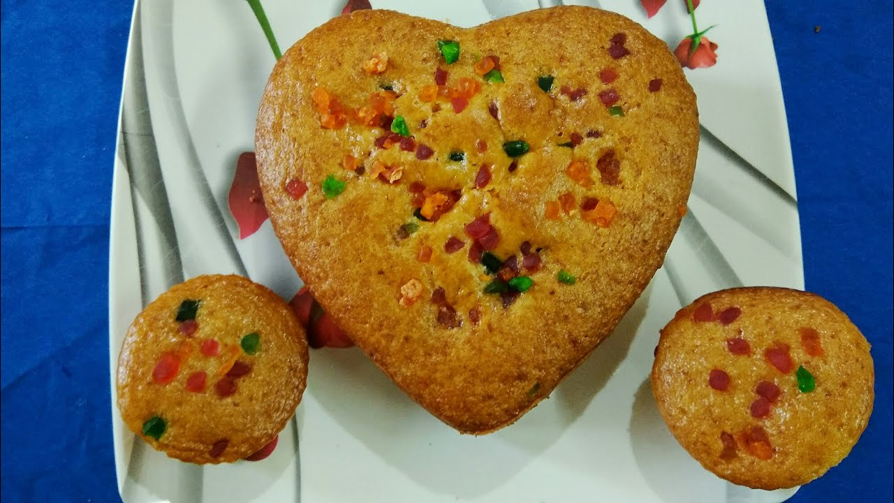 Eggless Cake Recipe In Pressure Cooker In Telugu: Eggless Fruit Cake In Pressure Cooker