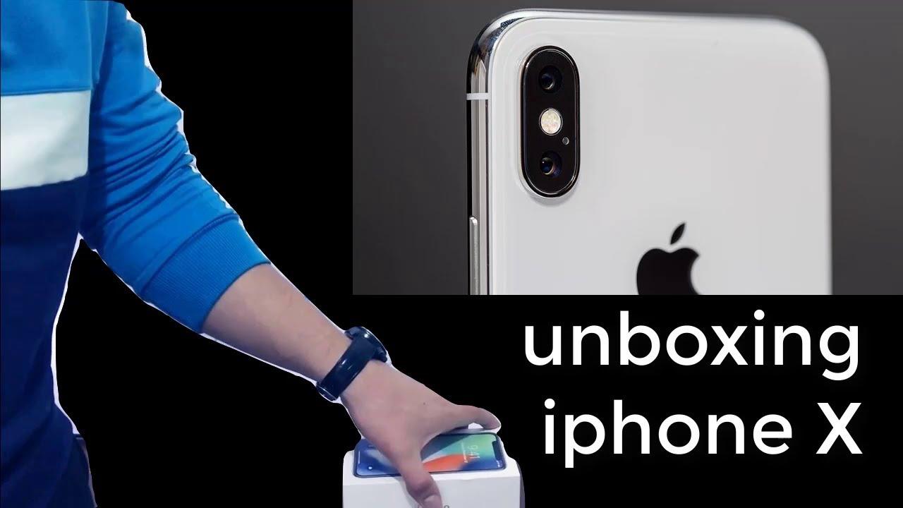 فتح علبة ايفون X من شركة ابل    Unboxing iphone X from Apple