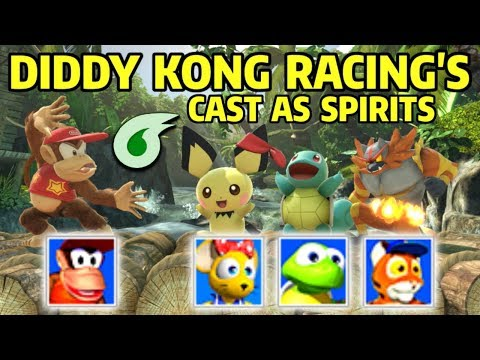 What if Diddy Kong Racing&39;s Cast were Spirits in Super Smash Bros Ultimate?