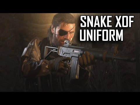 Metal Gear Solid V - Rescuing Child Soliders Snake XOF Uniform
