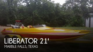 Used 1994 Liberator 21 Drag Boat for sale in Marble Falls, Texas