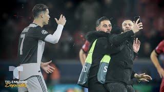 Cristiano Ronaldo enfurece con un fan que lo tomó por el cuello | Telemundo Deportes