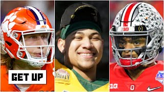 Mel Kiper's top QBs for the 2021 Draft: Trevor Lawrence, Justin Fields and Trey Lance | Get Up
