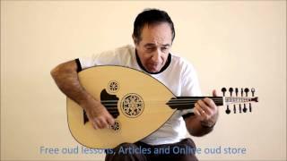 مقطع موسيقي من اغنية (هذه ليلتي) - Umm Kulthum -Turkish Oud for Sale