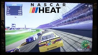 nascar heat 2 gameplay from e3 daytona