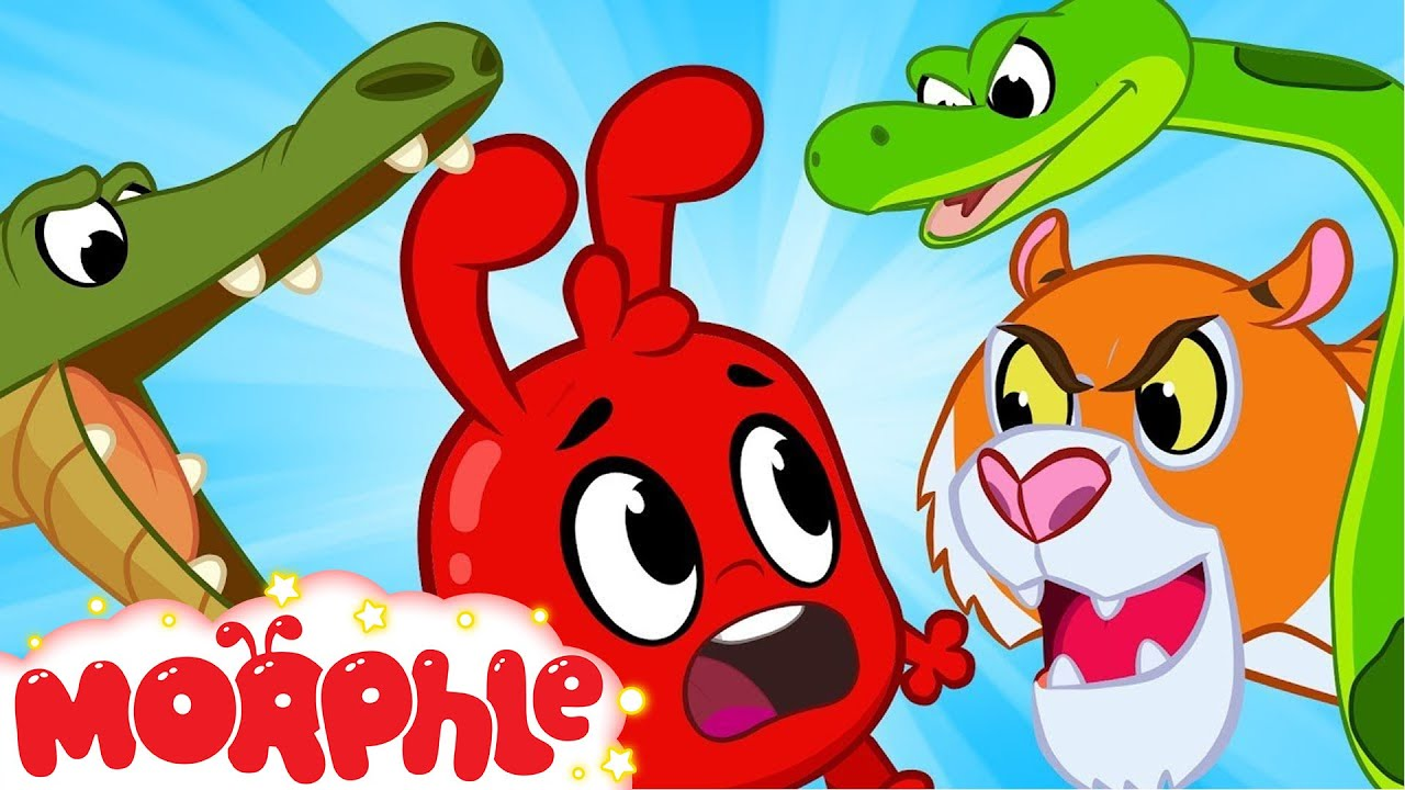 Morphle and The Scary Animals - Morphle   Cartoons For Kids   Mila and Morphle   BRAND NEW   Kids