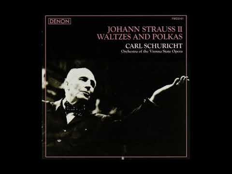 Carl Schuricht  J  Strauss II   Waltzes & Polkas  1963 Vienna State Opera O