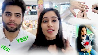 I SAY YES FOR EVERYTHING TO MY WIFE FOR 24 HOURS | That GlamGirl | Rishi & Himanshi